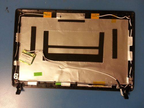 Samsung LCD Black Back Cover BA75-02361B w/ WiFi Aereolas