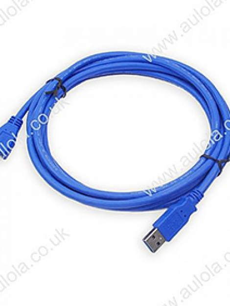 Adnet High Speed Extension USB Cable (BLUE)