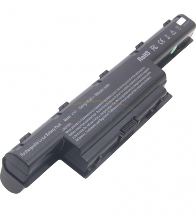 Acer Aspire V3 551 8458 Li ion 4800 mAh 6 Cells COMPATIBLE BATTERY
