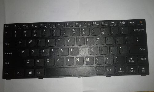 Lenovo E41-15 / 41-25 laptop keyboard with power switch model (Black)