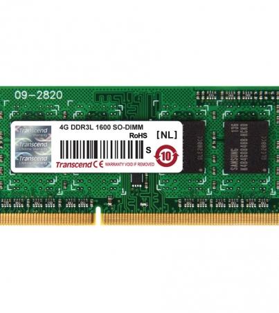 TRANSCEND DDR3 1600 UDIMM 4GB LAPTOP RAM