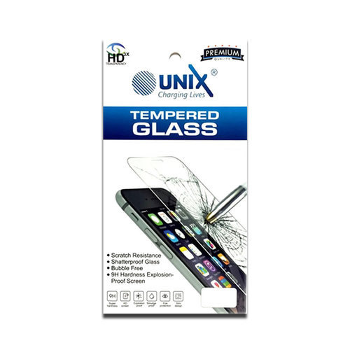 UNIX CHARGING LIVES TEMPERED GLASS